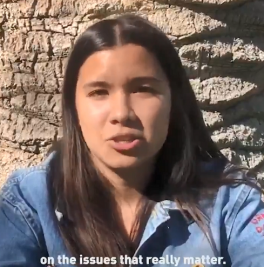 Young people get it on climate